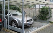 Beispielparkplatz